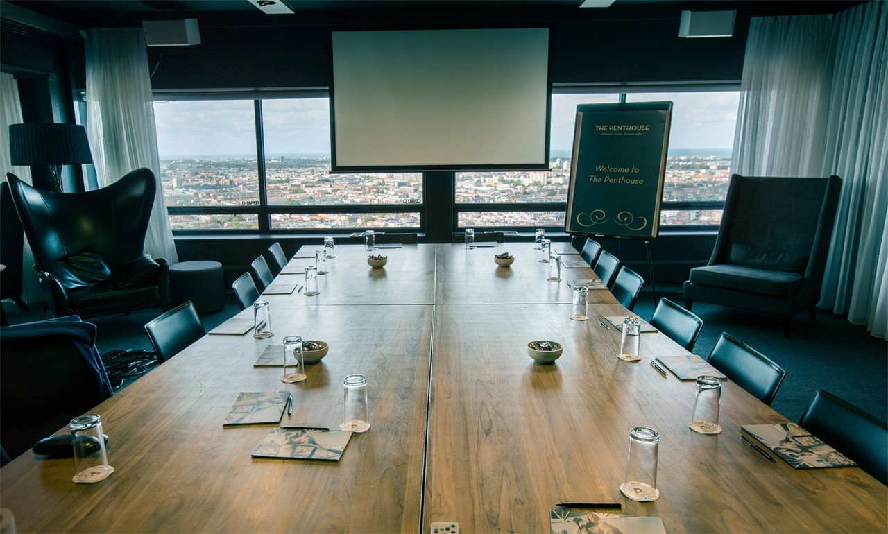 The Penthouse - Haagse Toren - Business Suite meetings
