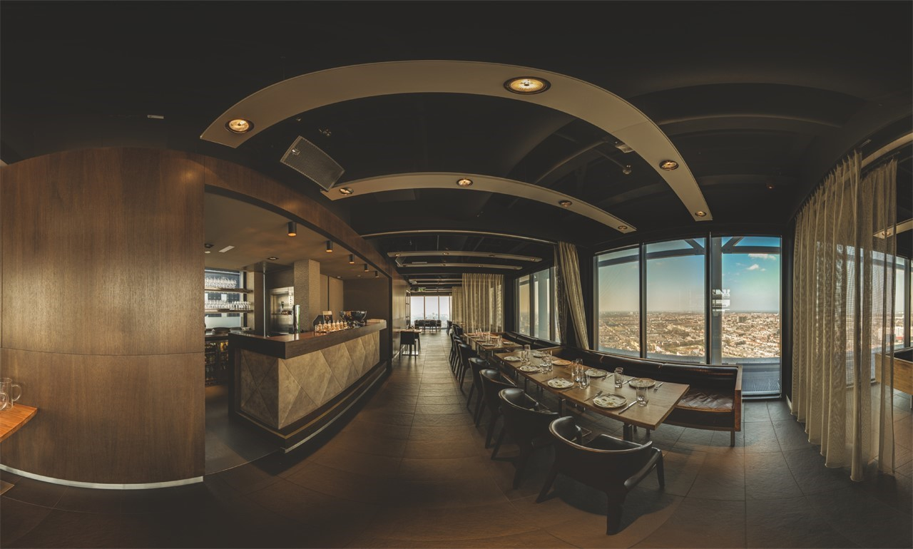 The Penthouse - Haagse Toren - The Penthouse Fisheye