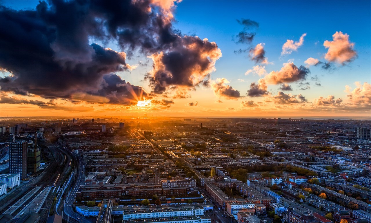 The Penthouse - Haagse Toren - City Views and Sunset