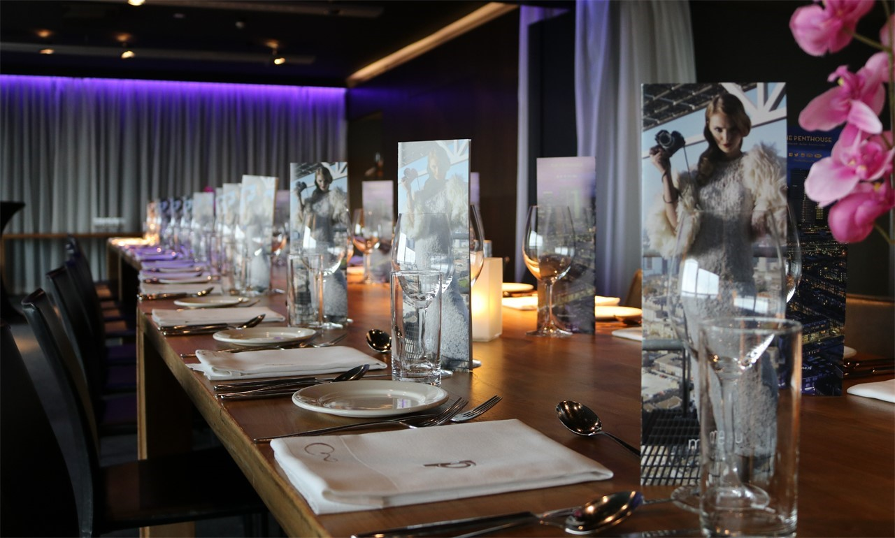 The Penthouse - Haagse Toren - Private Dining Suites