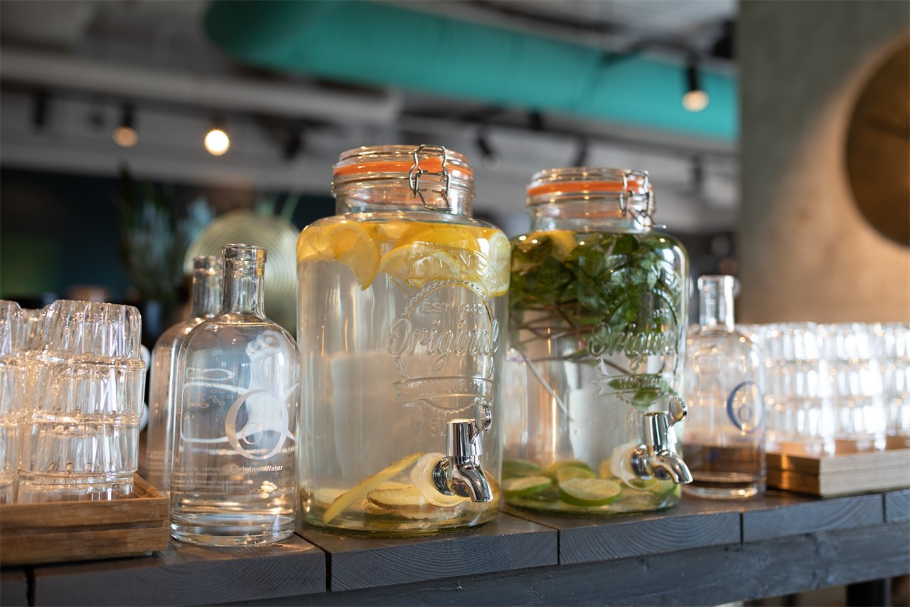 ADAM's ID Meeting & Events - Infused water