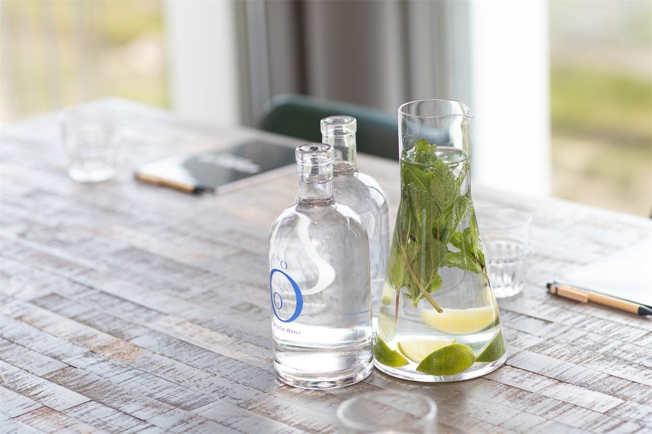 ADAM's ID Meeting & Events - Complimentary still, sparkling & infused water