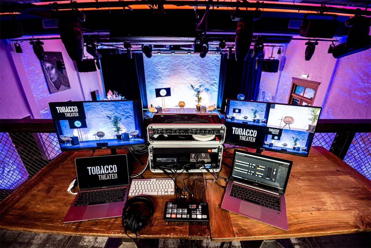 TOBACCO – Events & Livestream Studios Amsterdam - Livestream - Behind the scenes
